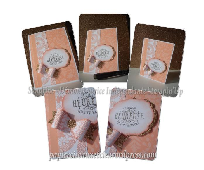 AW09 around the world - Sandrine - Stampin Up - Sale-A-Bration détails