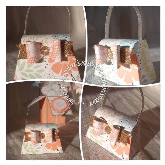 sac à main stampin up cadeau hôtesse détails