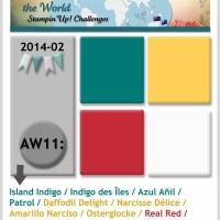 Challenge Around the World Stampin'Up Challenge: AW11