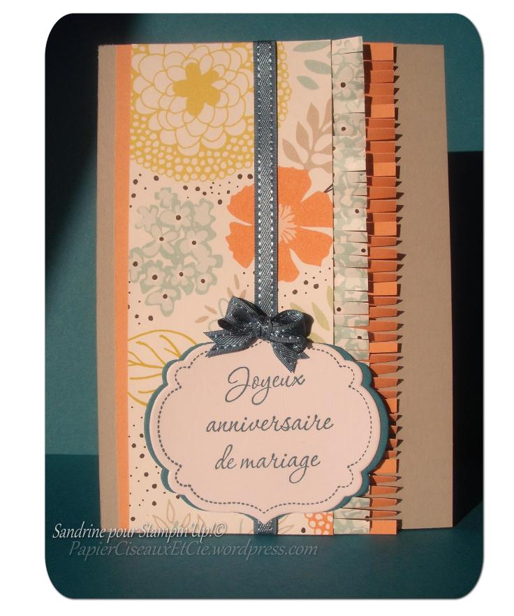 Stampin Up Anniversiare mariage Sale a bration Moments mémorables