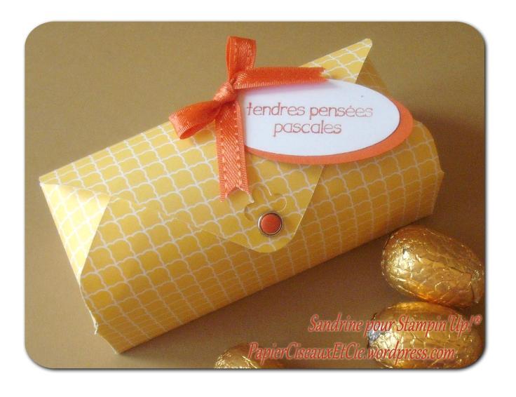 ballotin de pâques easter boîte box insta enveloppe punch envelope stampin up