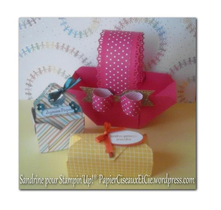 boîtes faites à l'insta'enveloppe punch envelope stampin up sandrine greusard
