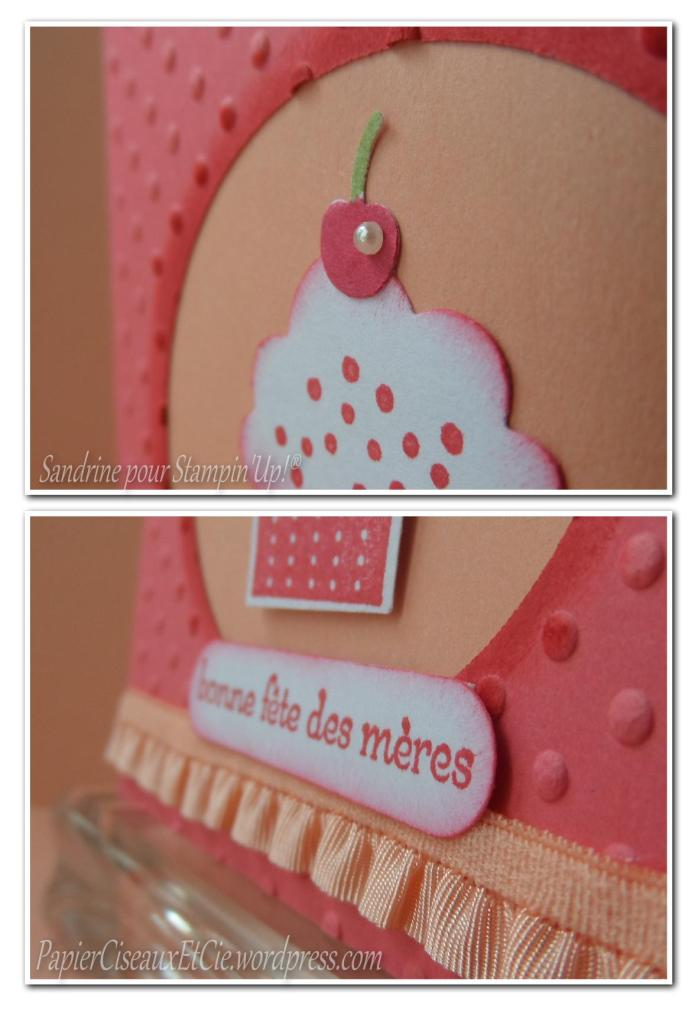 carte cup cake détail stampin up papierciseauxetcie.wordpress.com