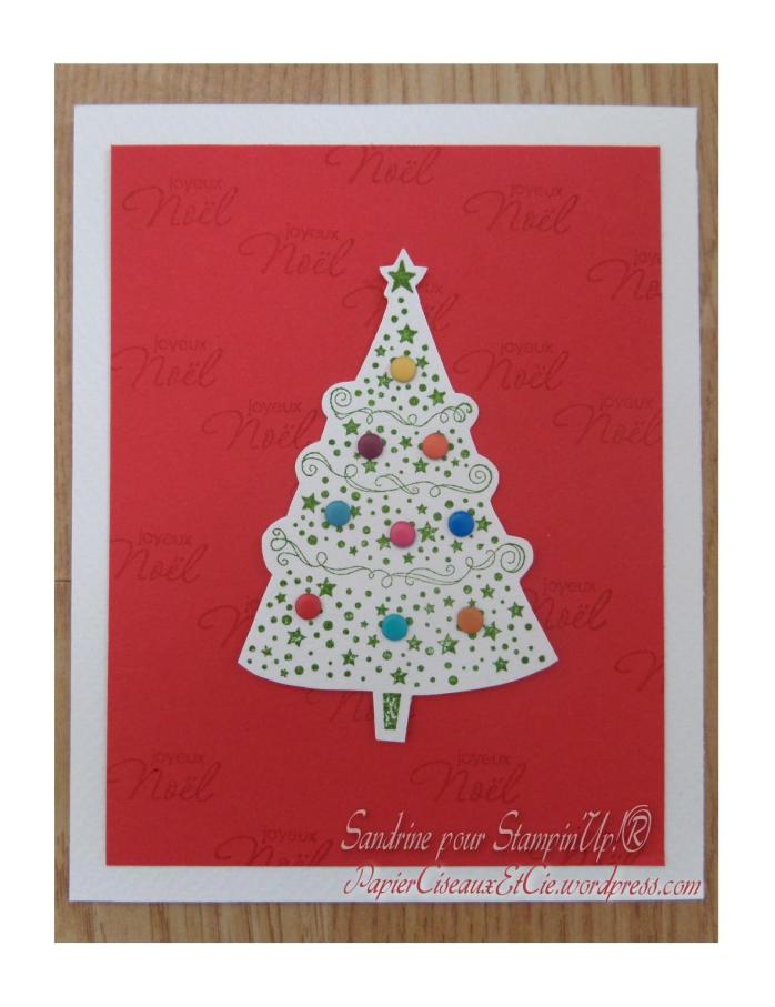 Noel Christmas Stampin up papierciseauxetcie.wordpress