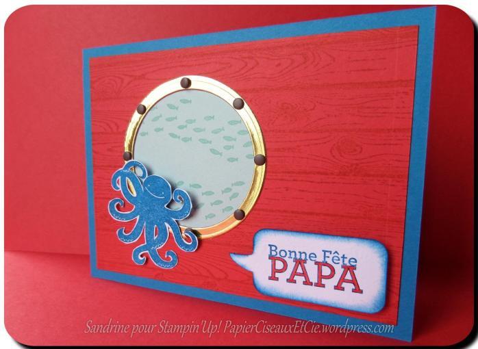 carte fêtes des pères 1 stampin up sandrine greusard