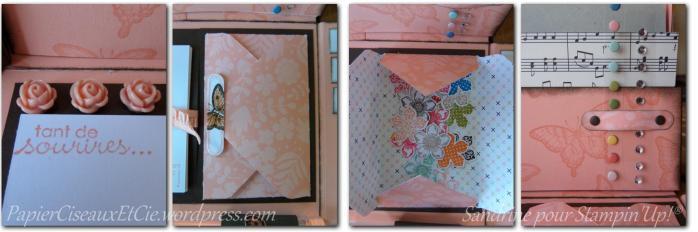 stationary box sandrine greusard pour Stampin'Up! détails 2 papierciseauxetcie.wordpress