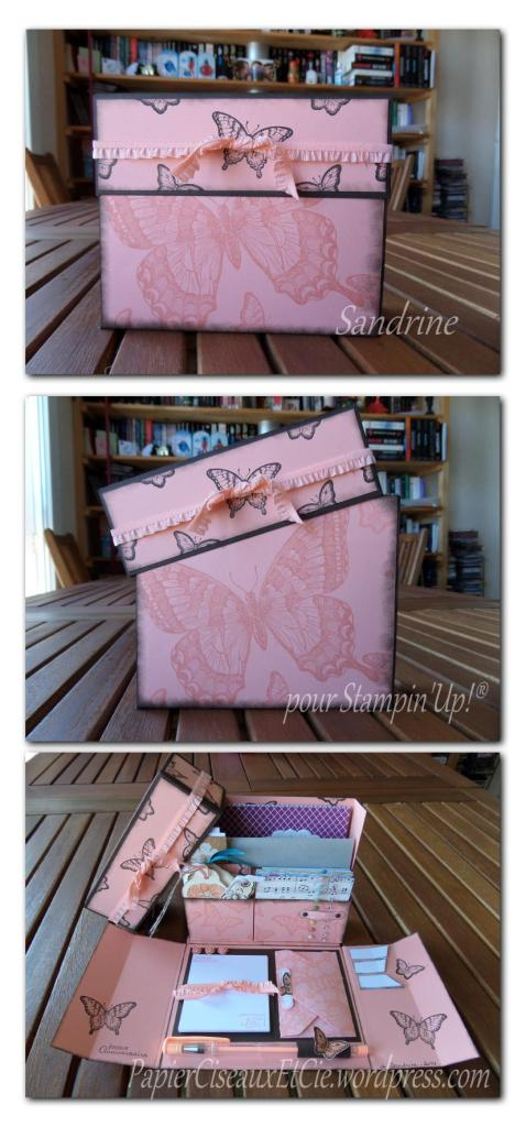 stationary box sandrine greusard pour Stampin'Up!