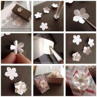 Création d'embellissement: une fleur