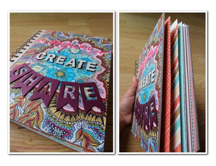 Art journal doodling papierciseauxetcie détail 2