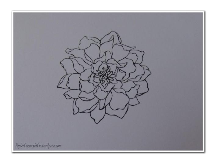 Art journal doodling papierciseauxetcie pas à pas 1