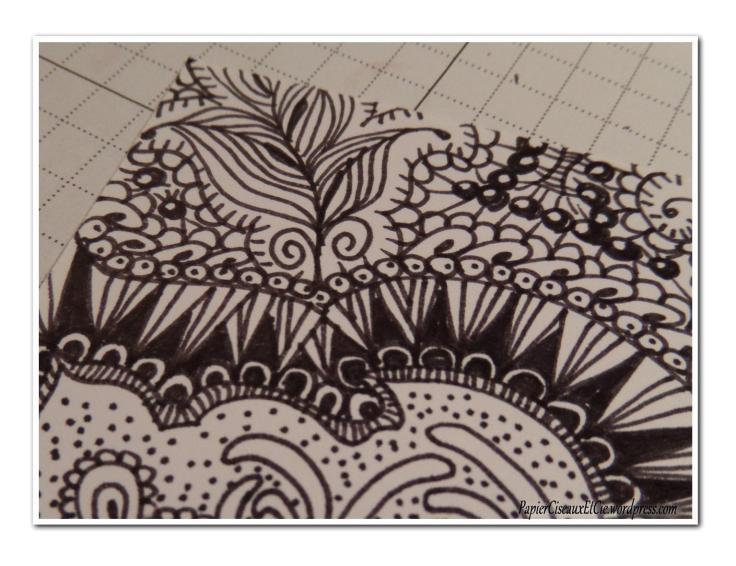 Art journal doodling papierciseauxetcie pas à pas 10