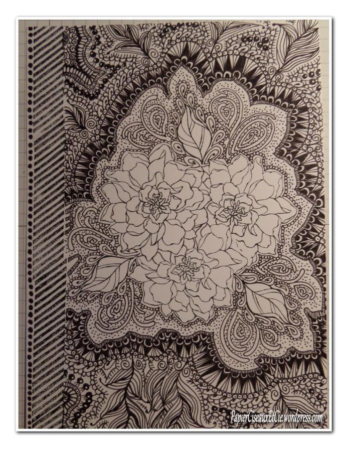 Art journal doodling papierciseauxetcie pas à pas 11