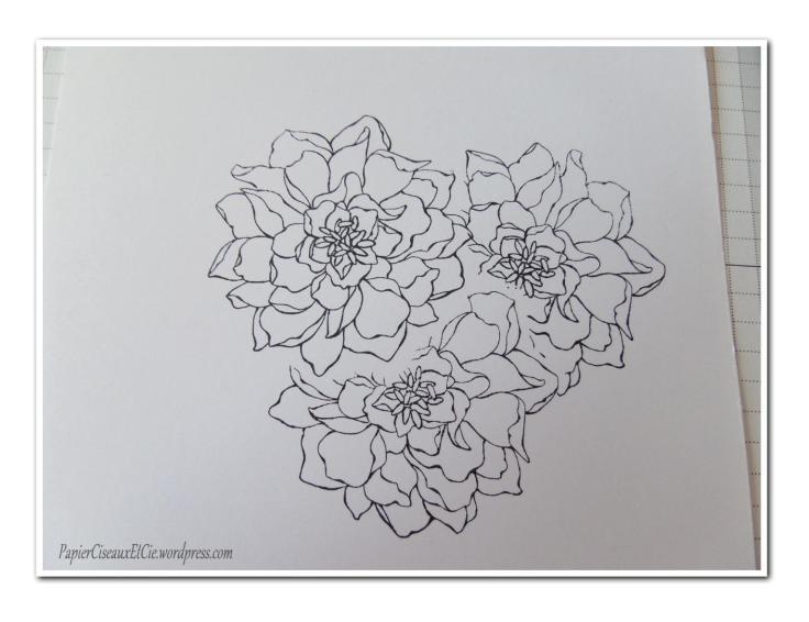 Art journal doodling papierciseauxetcie pas à pas 3