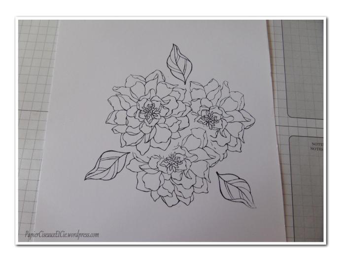 Art journal doodling papierciseauxetcie pas à pas 4