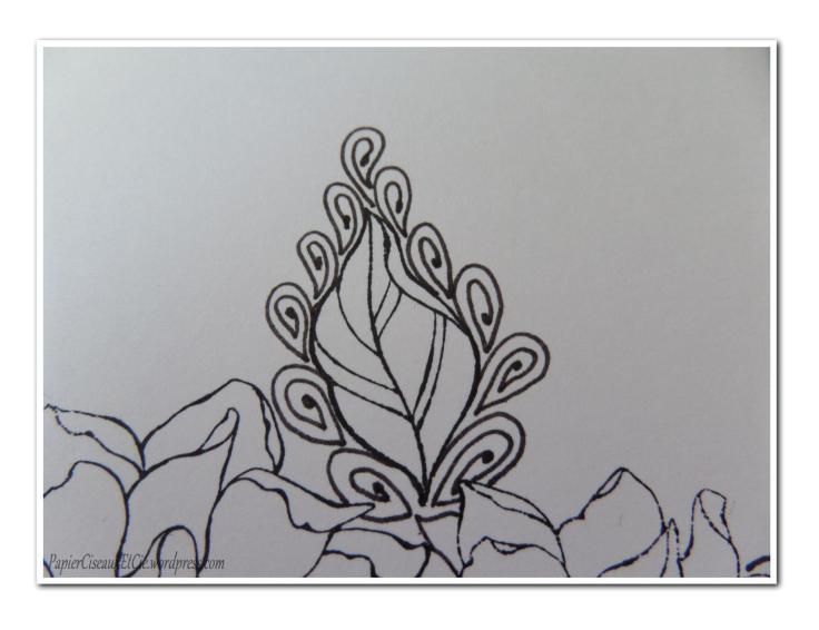Art journal doodling papierciseauxetcie pas à pas 6
