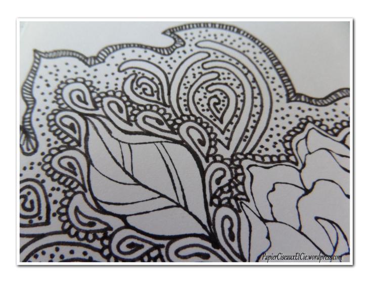 Art journal doodling papierciseauxetcie pas à pas 8
