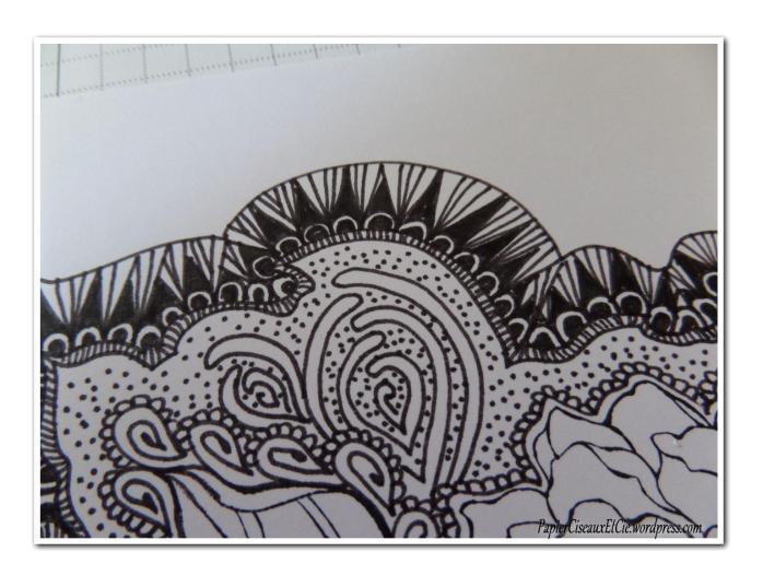 Art journal doodling papierciseauxetcie pas à pas 9