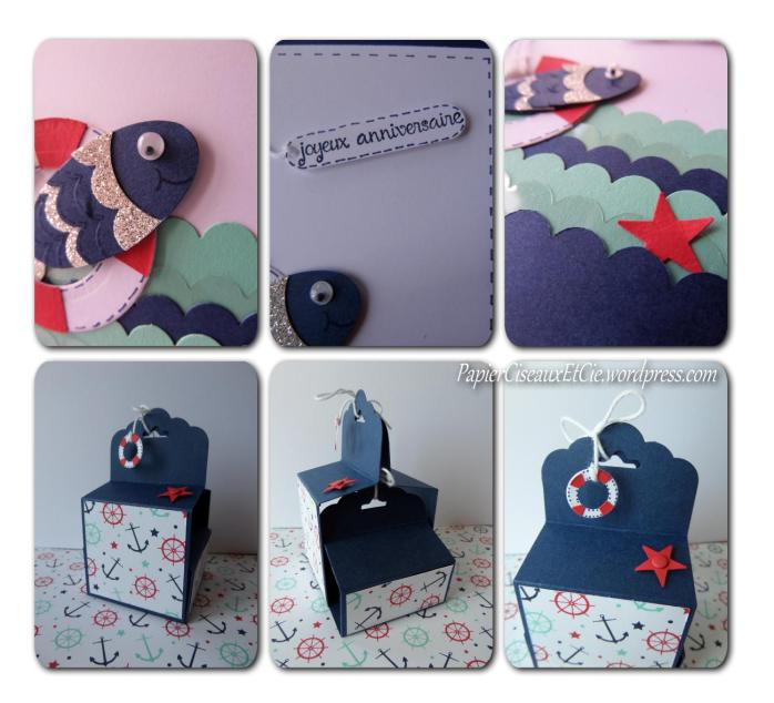 stampin up besançon boite et carte assortie papierciseauxetcie.wordpress.com détails
