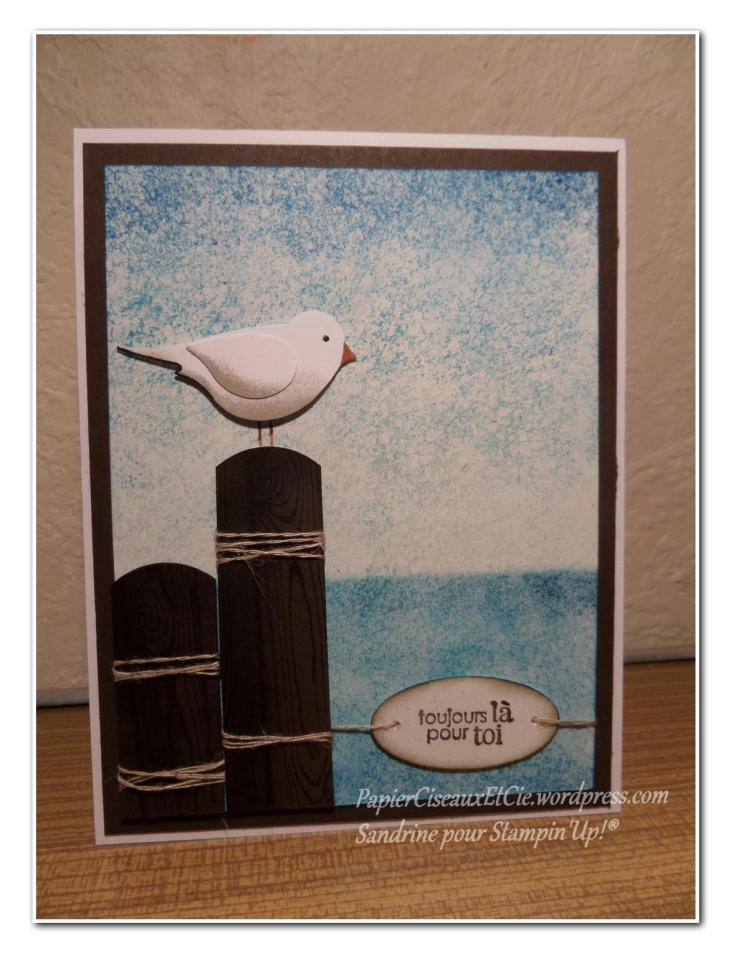 stampin up kit passereau papierciseauxetcie
