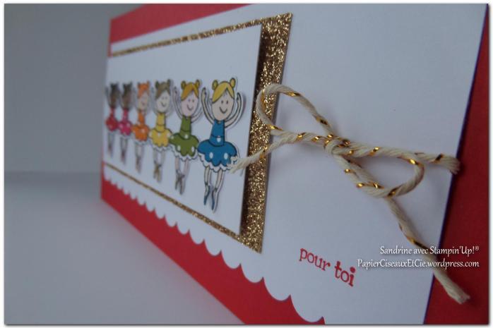 Carte fillettes PapierCiseauxEtCie by Sandrine détail 1