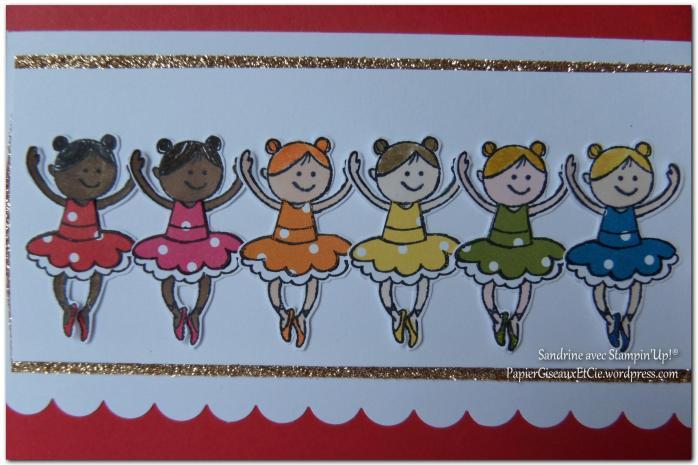 Carte fillettes PapierCiseauxEtCie by Sandrine détail 2