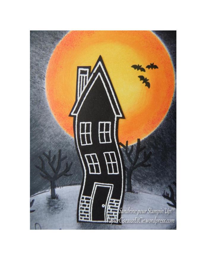 défi halloween détail