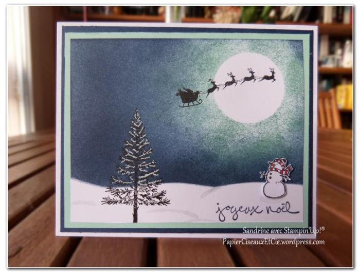 carte noel papierciseauxetcie.wordpress.com Sandrine et Stampin'up