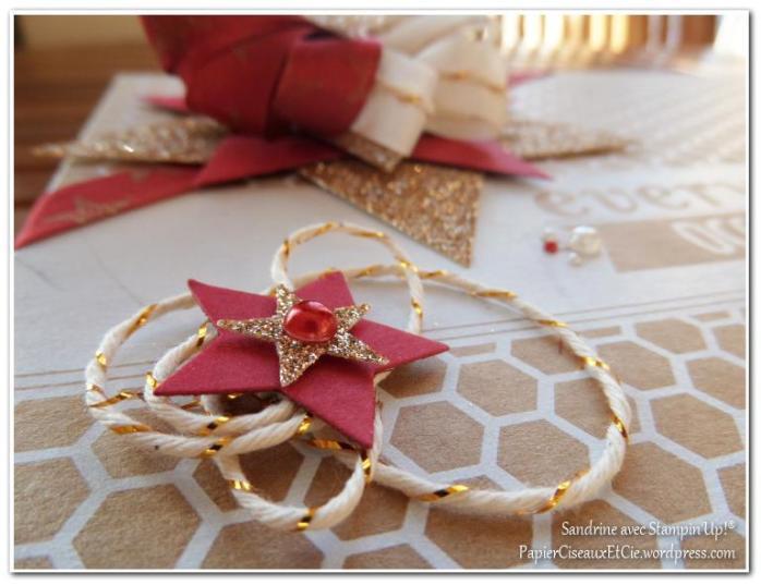Emballage cadeaux étoiles