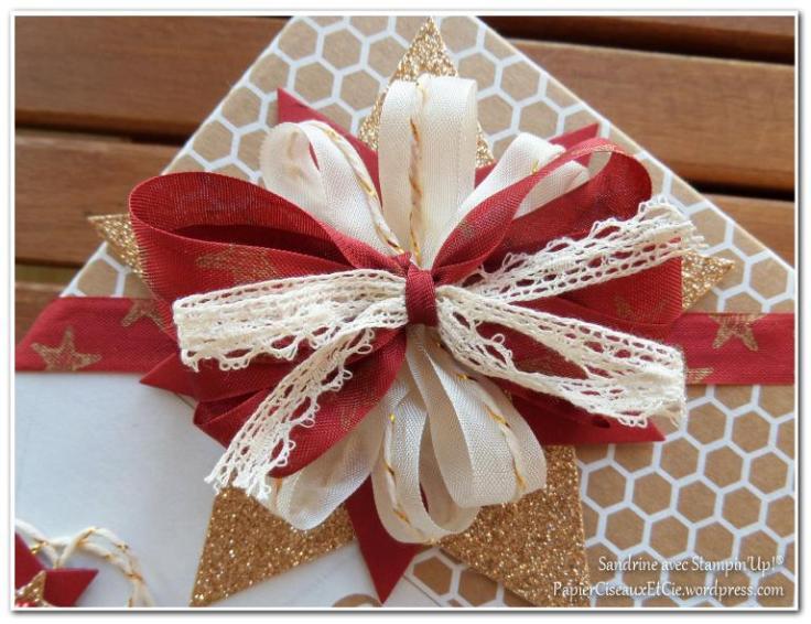 Emballage cadeaux noeud