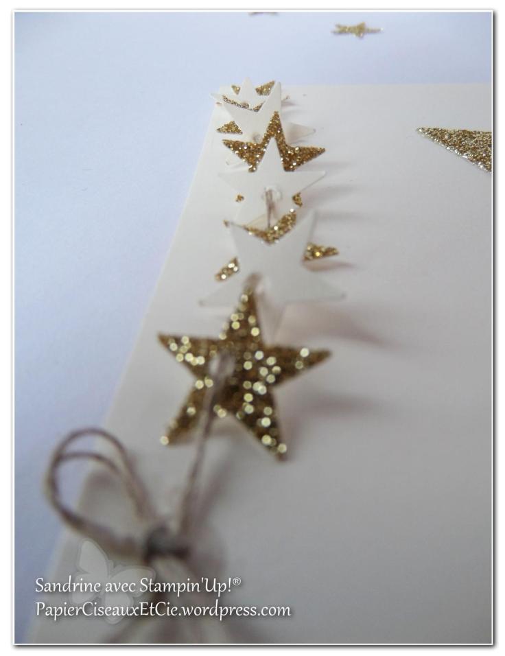 défi invitation SU stampin up papierciseauxetcie étoile