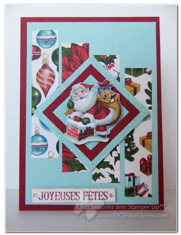 father christmas père noel carte voeux papierciseauxetcie.worpress.com