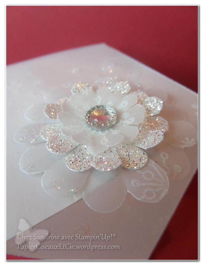 123 scrappez le blanc boite box velin photophore détail fleur de givre