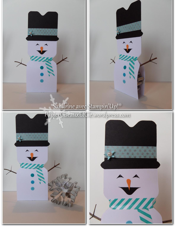 comment faire un bonhomme de neige avec l insta enveloppe. Black Bedroom Furniture Sets. Home Design Ideas