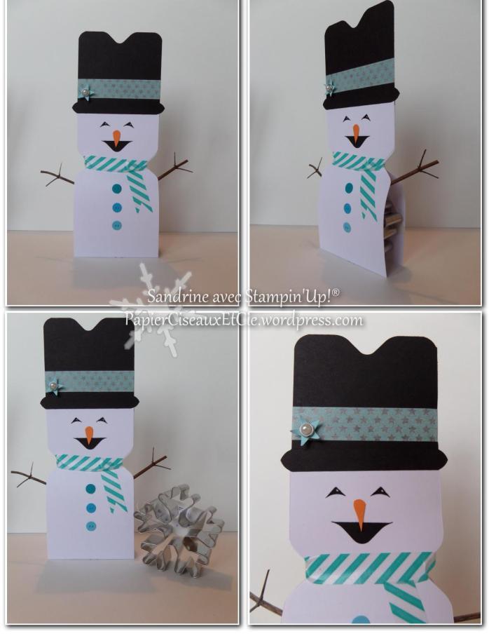 Comment faire un bonhomme de neige avec l insta enveloppe regardez cette vid o papier - Comment faire un bonhomme de neige en papier ...