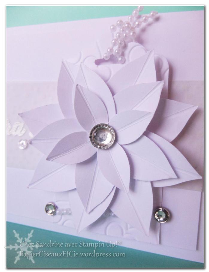 carte blanche mariage 123 scrappez papierciseuaxetcie stampin up nouveauté détail fleur simply scored perle