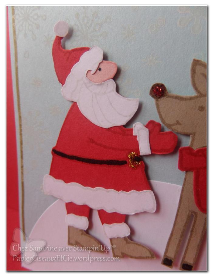 carte noel christmas santa gift stampinup papierciseauxetcie.wordpress.com santa ^pere noel