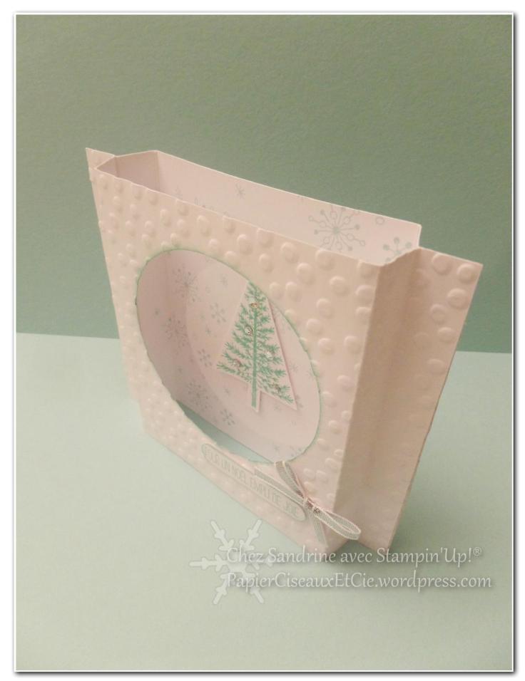 sandrine papierciseauxetcie fetival d'arbre carte de noel christmas card stampin up detail 2