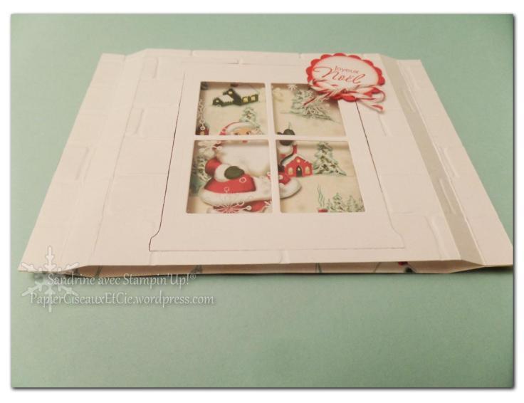sandrine papierciseauxetcie marché de noel carte de noel christmas card stampin up detail2