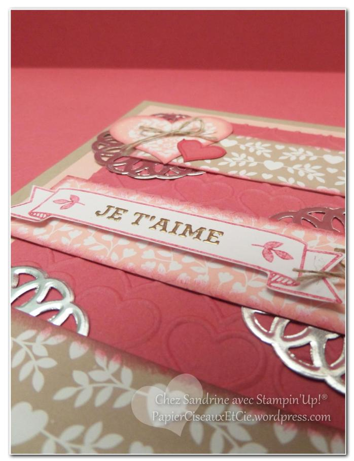 valentine day saint valentin stampin up sandrine papierciseuaxetcie 2016 détail embossage