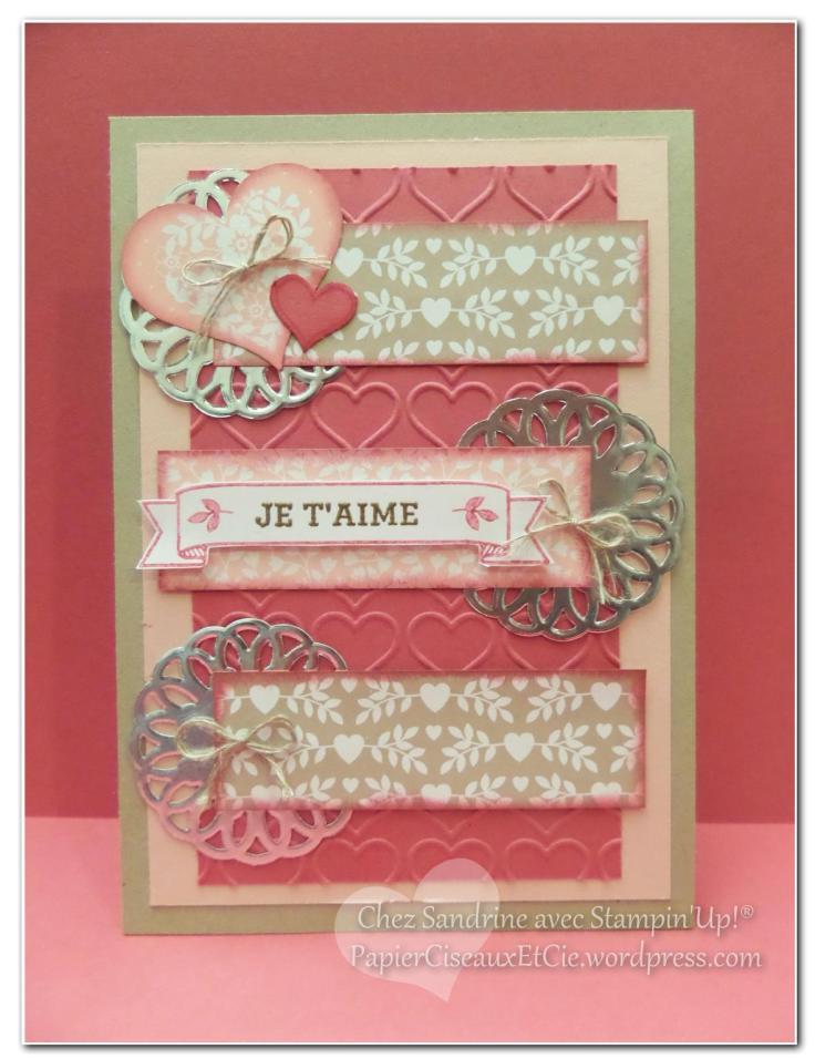 valentine day saint valentin stampin up sandrine papierciseuaxetcie 2016
