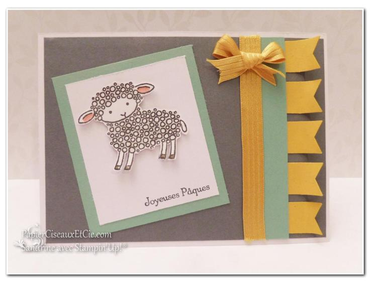 Paques easter stampin up carte card papiercieauxetcie.com