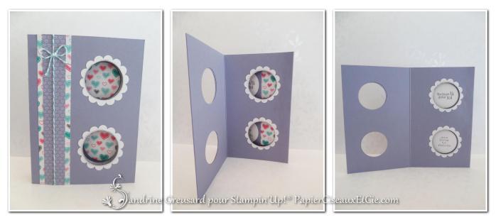 tryptique peek a boo carte magique étape 1 tuto complet en ligne papierciseauxetcie