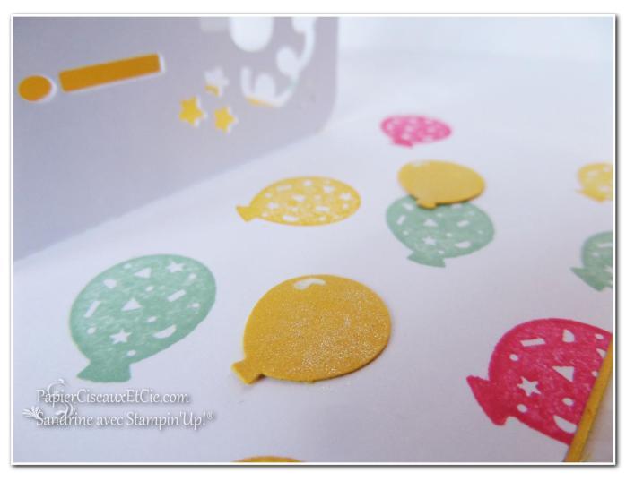 joyeux anniversaire fete 3D papierciseauxetcie détail
