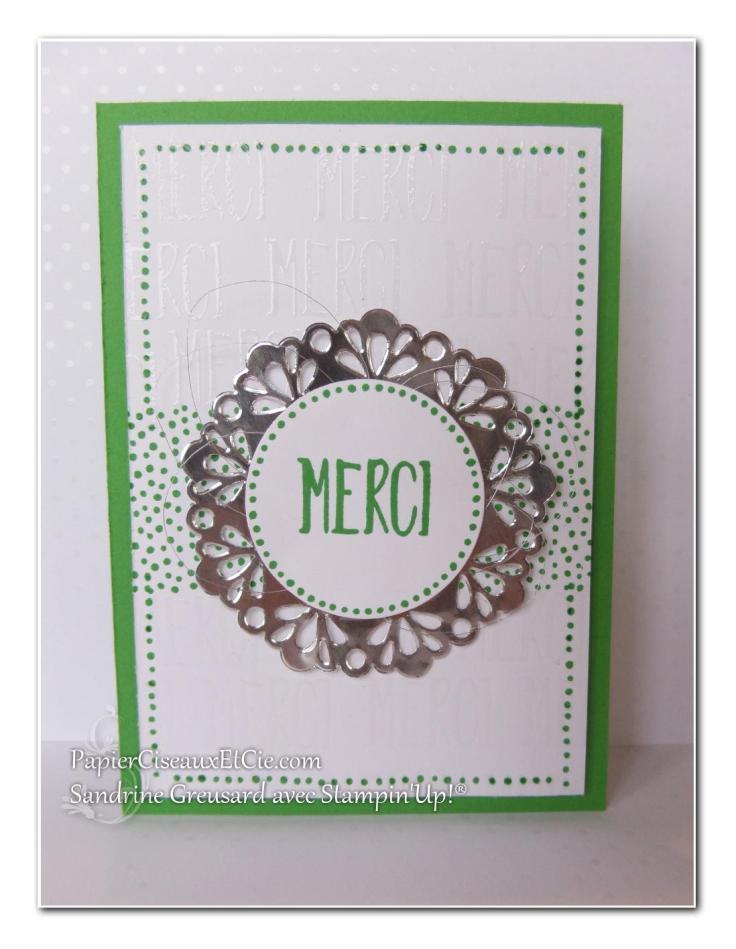 1 papierciseauxetcie onstage stampin up échantillon fraîchuer concombre carte
