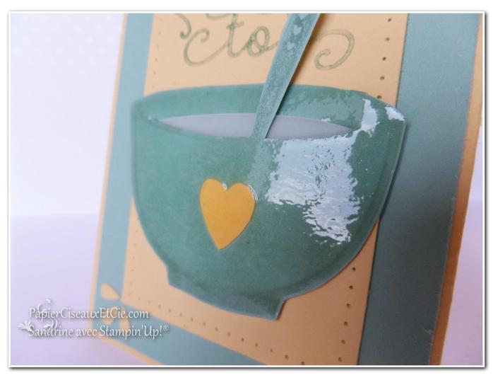 1 papierciseauxetcie onstage stampin up échantillon macaron à la menthe carte détail