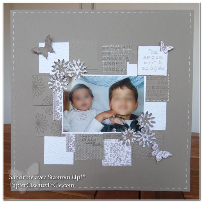 1 papierciseauxetcie onstage stampin up échantillon tip top taupe page de scrap - Copie