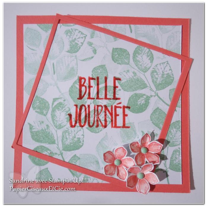 papierciseauxetcie blog hop stampin up printemps fond encré