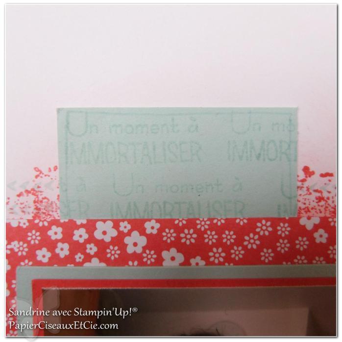1 papierciseauxetcie onstage stampin up échantillon fraîcheur pastèque page de scrap2