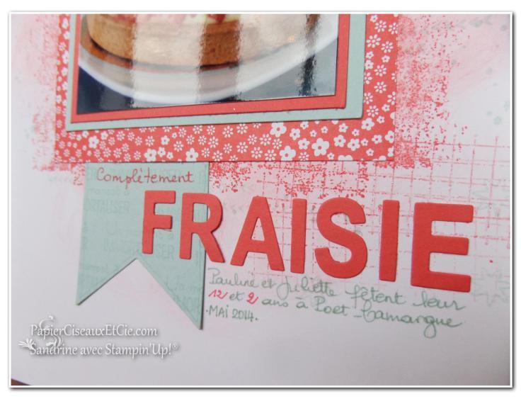 1 papierciseauxetcie onstage stampin up échantillon fraîcheur pastèque page de scrap4