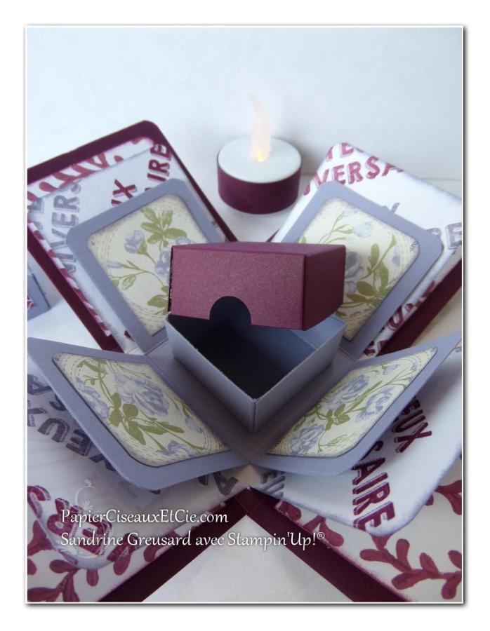 boite explosive papierciseauxetcie cadeau stampin up surprise offerte